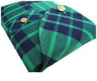 Isokit Vintage Plaid - iPad lomme
